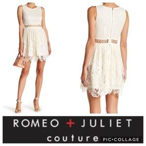 🦋Romeo + Juliet Couture Lace Flare Dress🦋